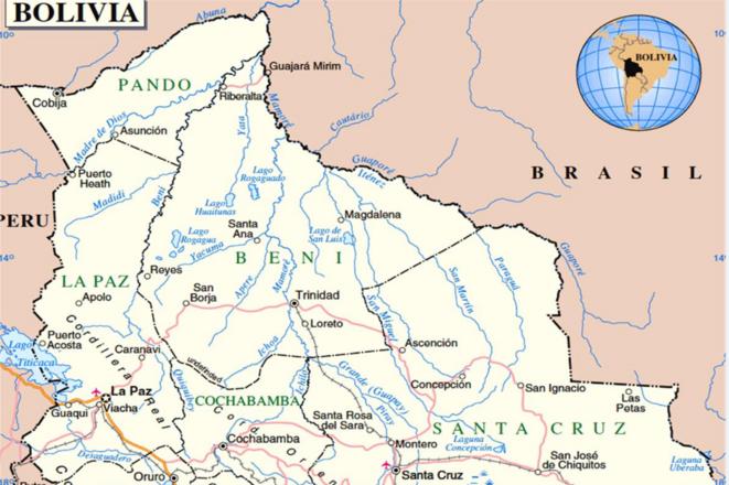Nord de la Bolivie