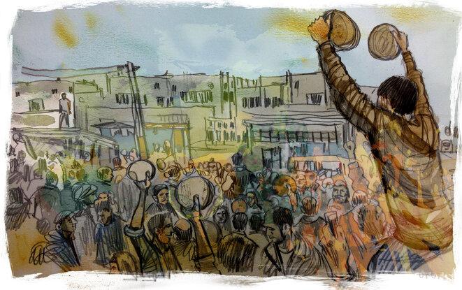 Deraa fue el epicentro de la revuelta popular en 2011. © Damien Roudeau