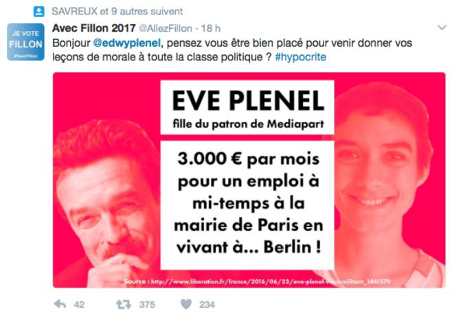 La campagne des soutiens de Fillon