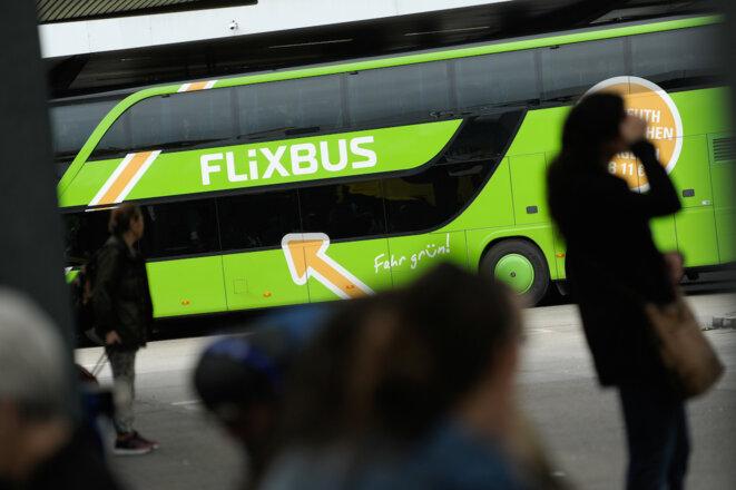 La compagnie allemande Flixbus détient 50% du marché français. © Reuters