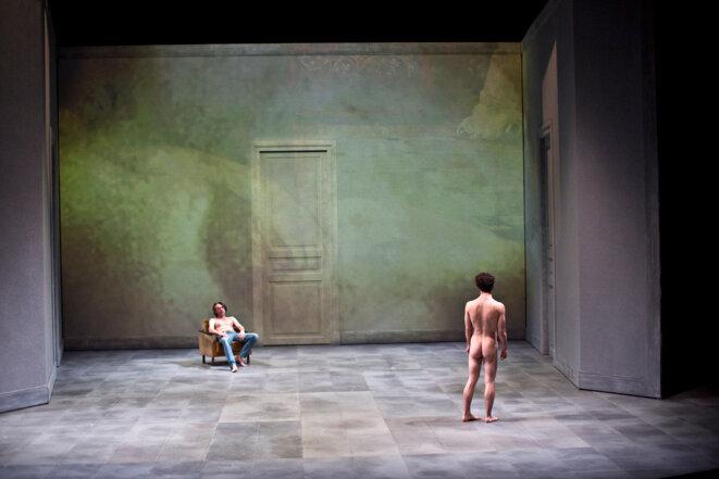 """Scène de """"Erich von Stroheim"""" © Jean-Louis Fernandez"""