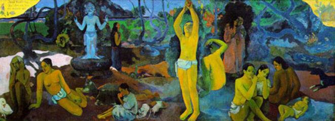 © Gauguin (1848-1903) Le Tahiti Traveler