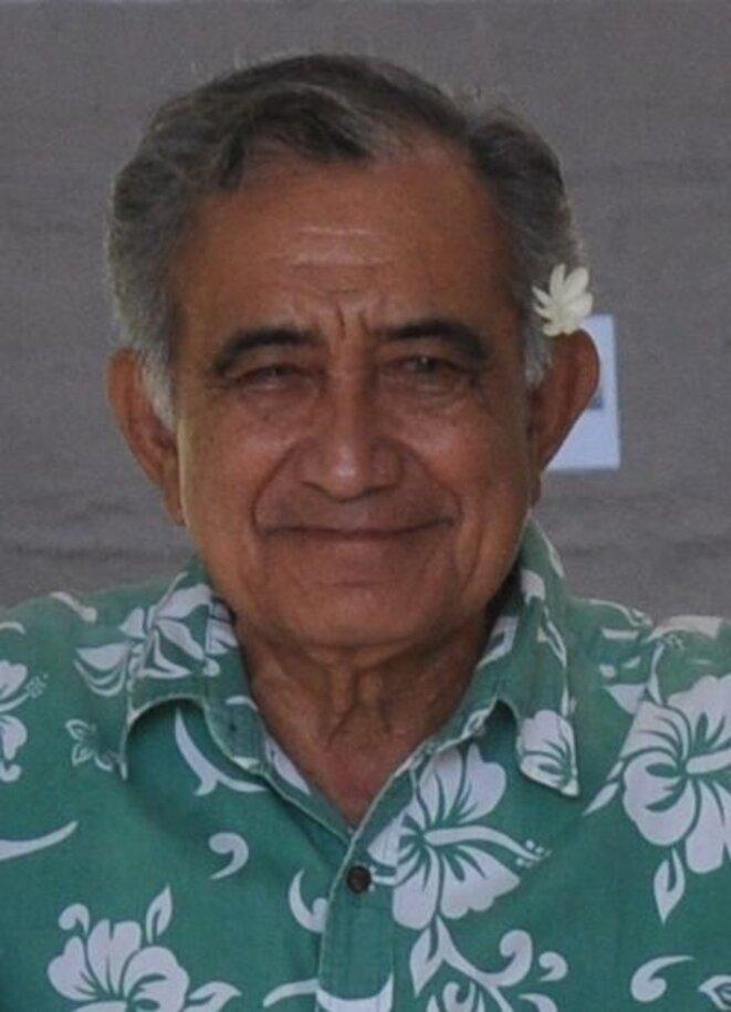 Oscar Temaru, en 2015 © Saga70 - Wikimedia commons