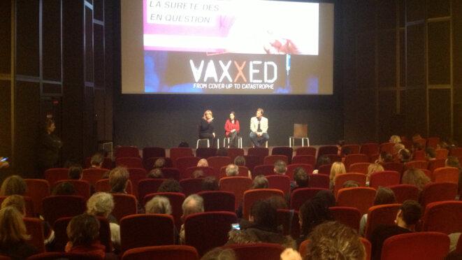 débat après la projection en présence du réalisateur Andrew Wakefield.