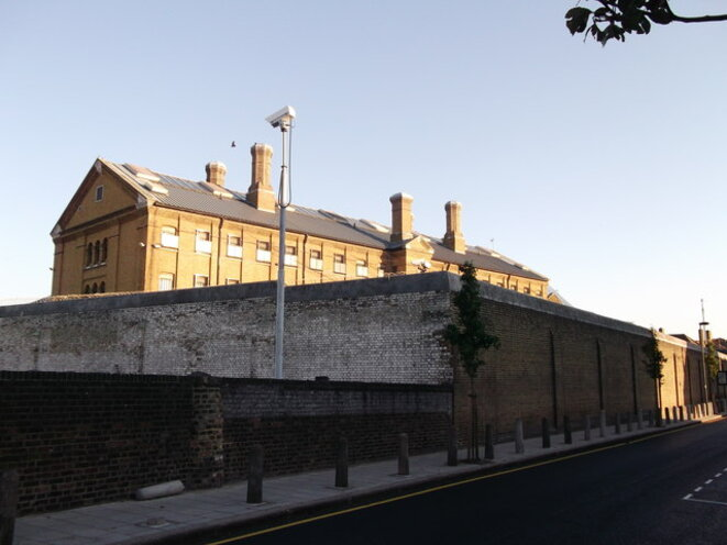 Wall of H.M. Prison Brixton © David Anstiss