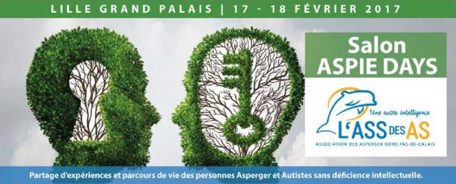 Aspie Days - 17 et 18 février 2017 - Lille