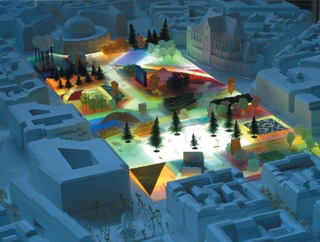 MVRDV, projet pour les Halles, 2004