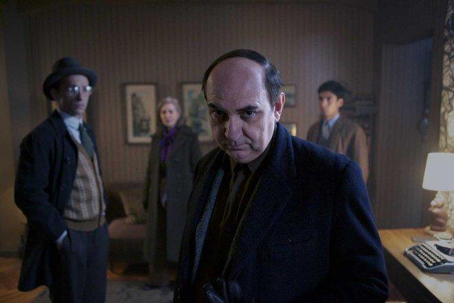 Pablo Neruda (Luis Gnecco) en « Neruda ».