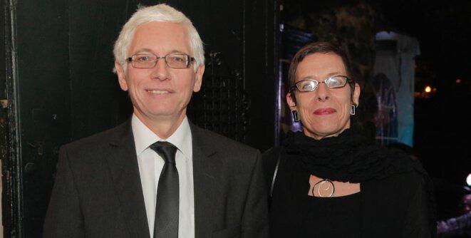 Jean-Marc Laforêt, ambassadeur de France en Colombie, et son épouse, Anne Louyot, …commissaire générale de l'année France-Colombie 2017.