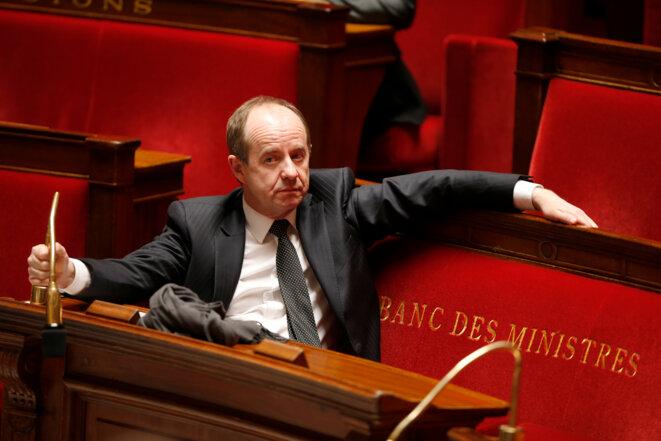 Jean-Jacques Urvoas, ministre de la justice © Reuters