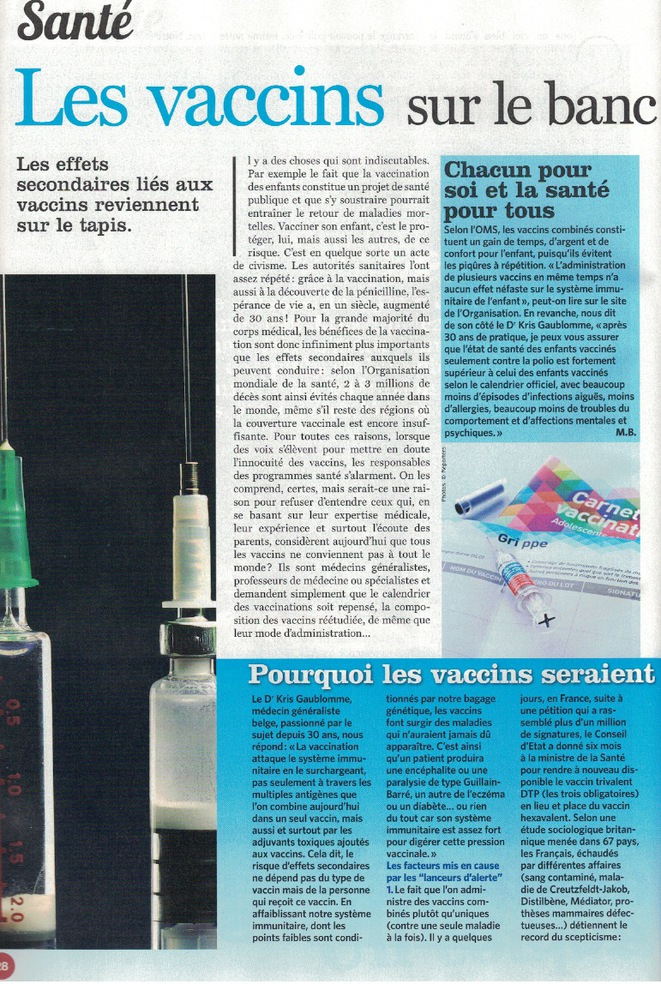 article soir mag du 15/02/2017 page 1