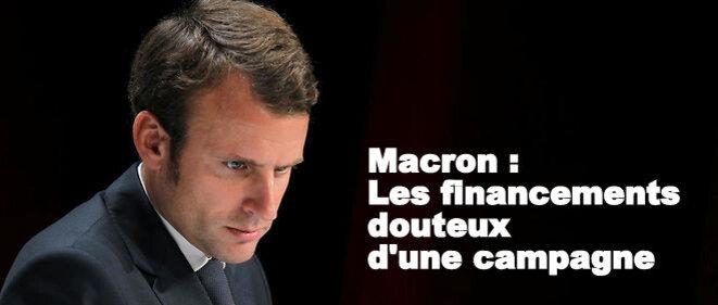 Macron : Quel argent ? © Pierre Reynaud