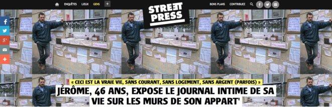 Chez moi, Paris, 1 rue de Chantilly, jusqu'en juillet 2015.