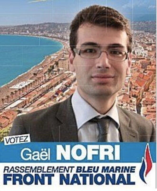 L'affiche de campagne de Gaël Nofri