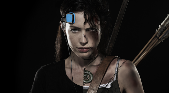 Une égérie de la marque Foc.us, dominatrice et déterminée grâce à son électrode de stimulation sur le cortex préfrontal droit... - Foc.us