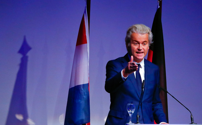 Geert Wilders le 21 janvier 2017 à Coblence (Allemagne) © Reuters / Wolfgang Rattay