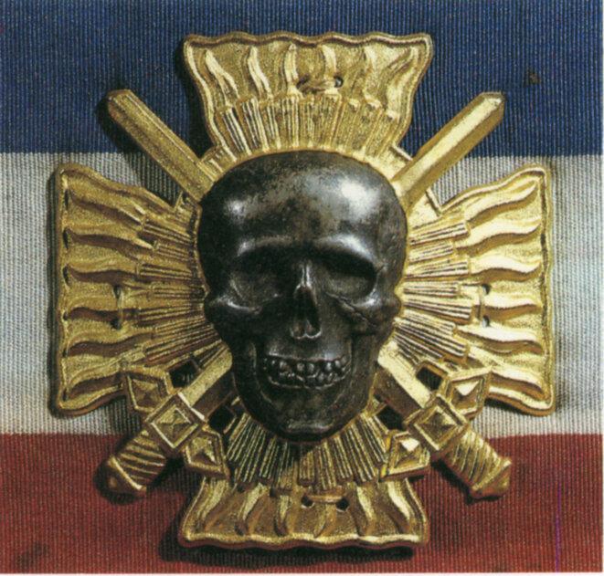 Emblème des Croix-de-Feu du colonel la Rocque