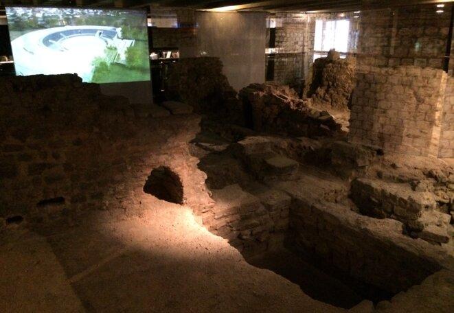 Crypte de Notre-Dame, ou le réel confronté à l'image