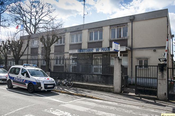 Capture d'écran du premier bâtiment du commissariat d'Aulnay-sous-Bois, tiré du site de la préfecture de police de Paris. © DR