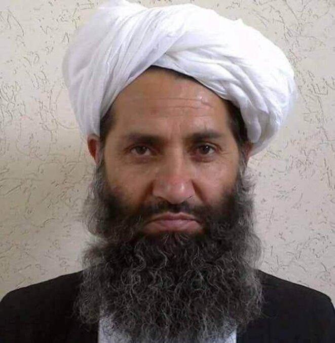 Haibatullah Akhunzadeh, chef des talibans depuis mai 2016. © Reuters