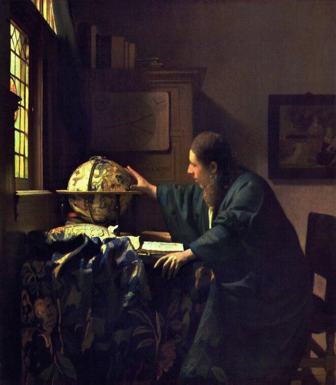 Vermeer L'Astronome