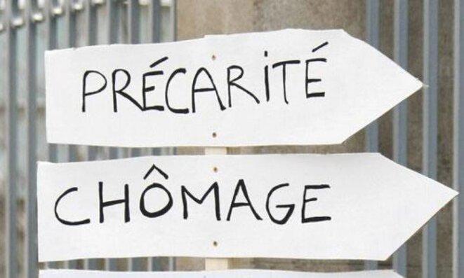 Chômage, pauvreté, misère ... © Pierre Reynaud