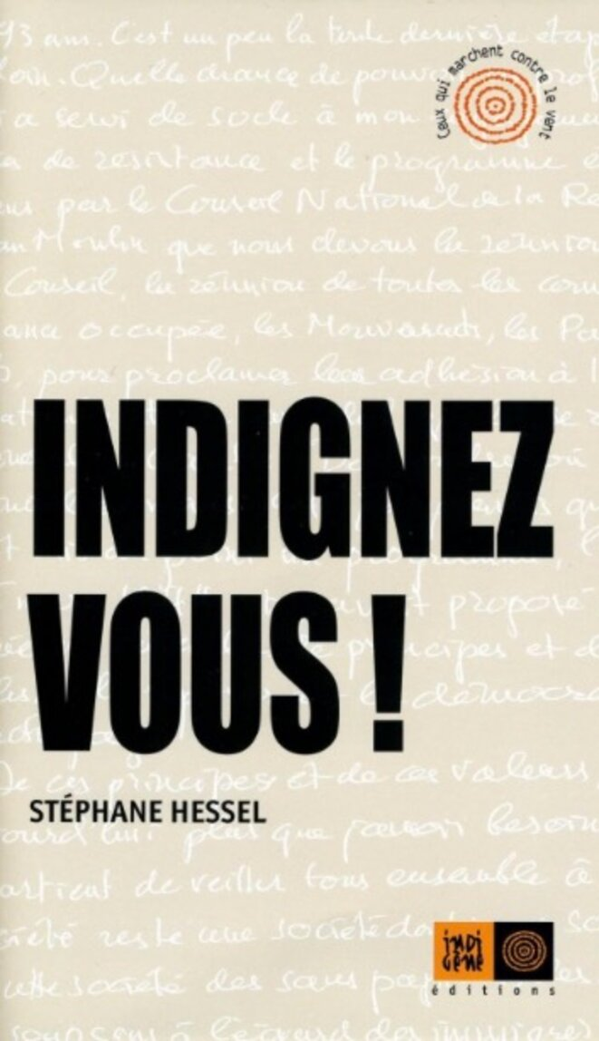 L'appel de Stéphane Hessel est paru en 2010