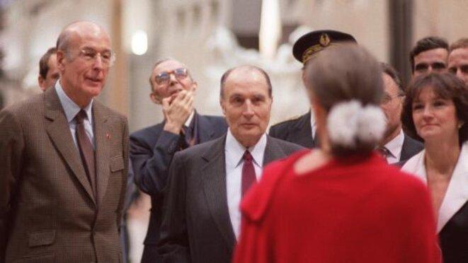 L'inauguration du musée d'Orsay, le 1er décembre 1986