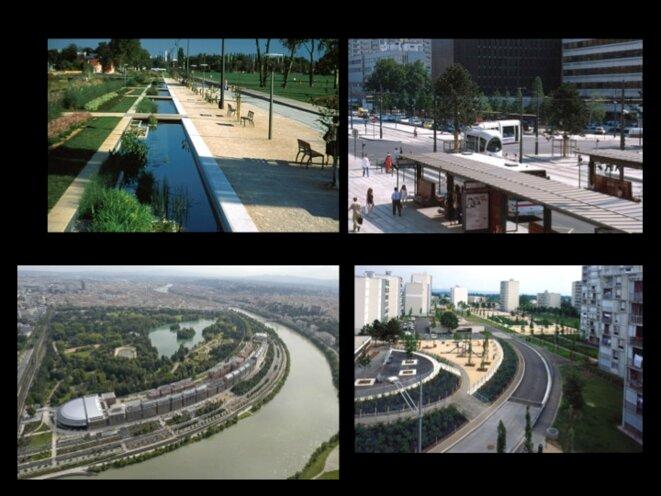 Lyon les espaces publics