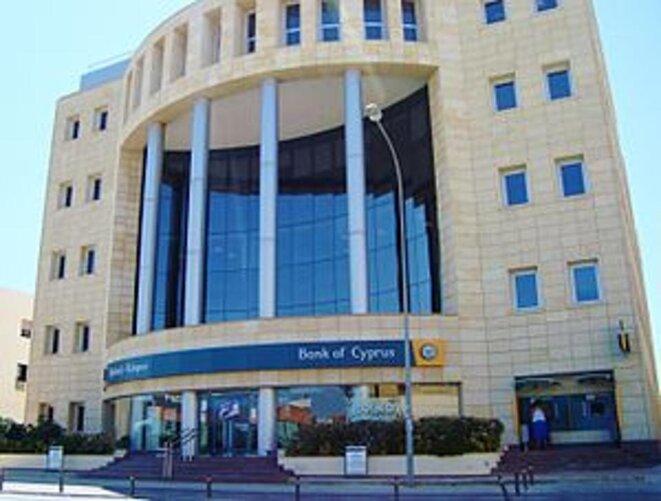 Le siège de la Bank of Cyprus à Nicosie