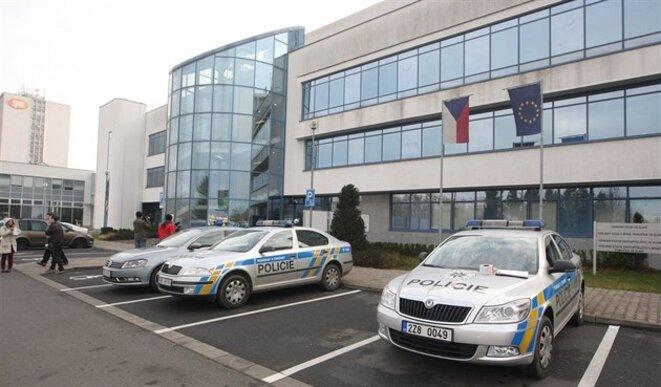 Le tribunal régional de Zlín, en République tchèque, où l'indicateur a été jugé et condamné à 14 mois de prison © DR