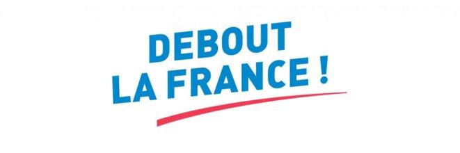 Logo de DEBOUT LA FRANCE (DLF) © DEBOUT LA FRANCE (DLF)