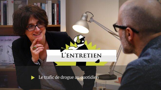 """Nathalie Perrier, l'une des deux auteurs du livre """"Une ville sous emprise, Saint-Ouen ou la loi du cannabis"""" © DR"""