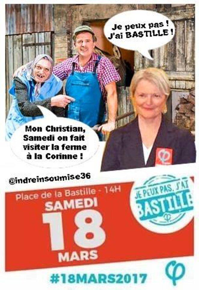 """"""" Je peux pas, j'ai Bastille ! """""""