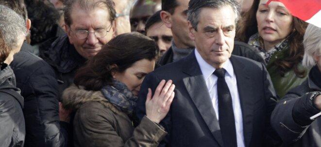 François et Marie Fillon au Trocadro