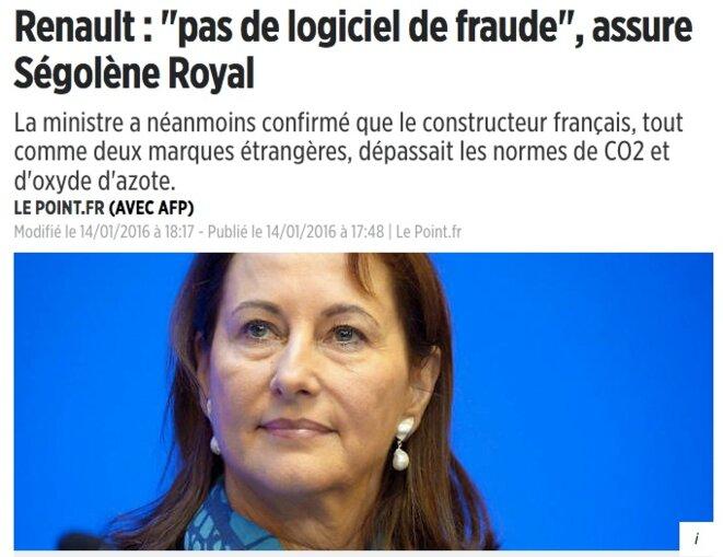 Renault risque d'avoir son Dieselgate — Logiciel truqueur