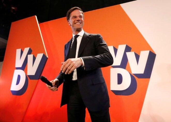 Mark Rutte, premier ministre sortant (VVD) © Reuters