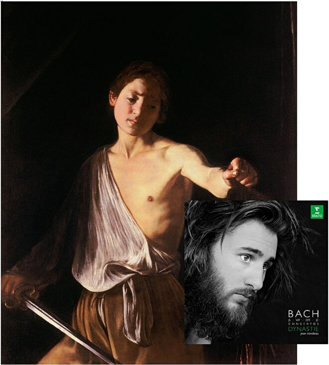 Jean Rondeau et le David du Caravage