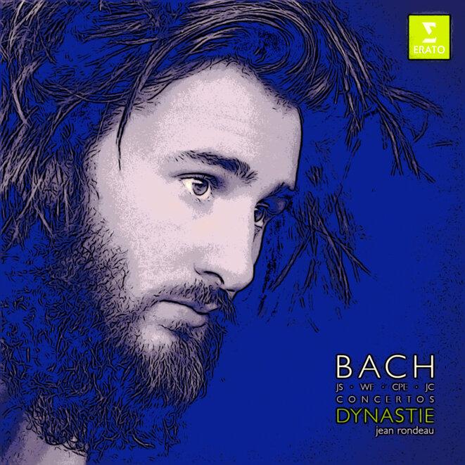 Jean Rondeau CD pochette en bleu