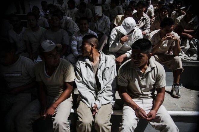 Prison de Santa Marta Acatitla, Mexico, Mexique © Ernesto Alvarez