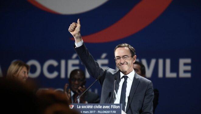 Bruno Retailleau, patron des sénateurs LR. © Reuters