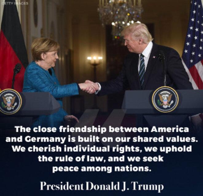 L'Allemagne rejette les allégations de Donald Trump — OTAN