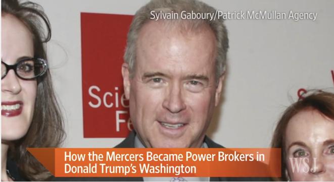 Robert Mercer, le « Big Data milliardaire » qui aurait fait gagner Trump © Capture d'écran YouTube