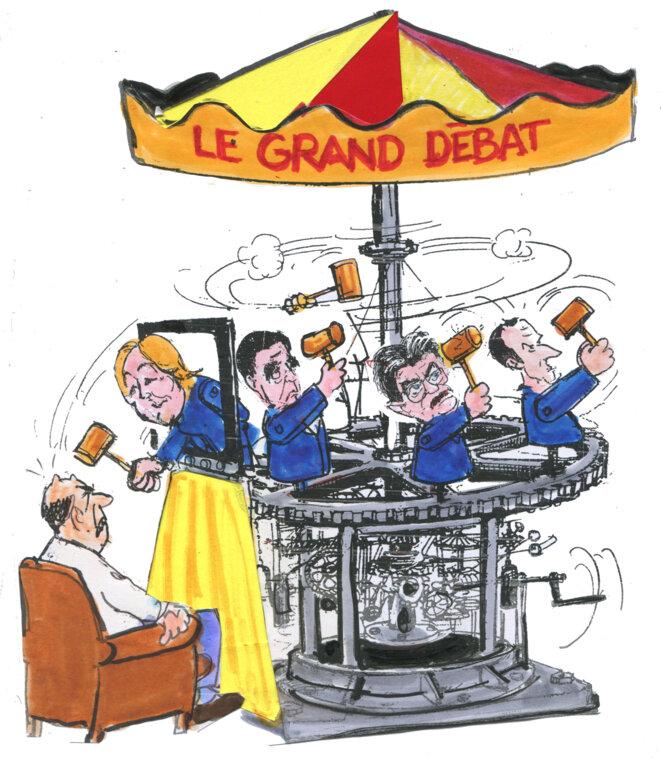 debat presidentielle © Calvi