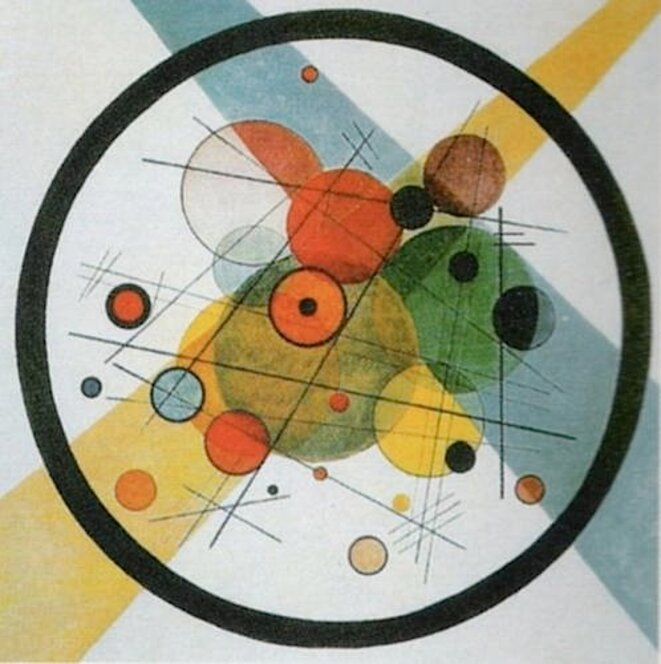 Circles in a Circle, 1923. © Wassily Kandinsky
