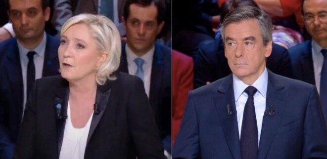 © Capture d'écran du débat sur TF1
