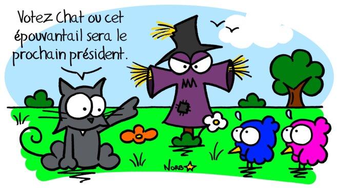 Scary démocratie! © Norb