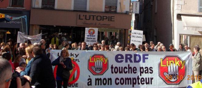 Manifestation à Gap (05) en octobre 2016 © DR