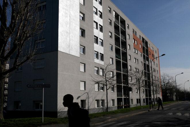 Le quartier du Mont-Mesly, à Créteil © Patrick Artinian