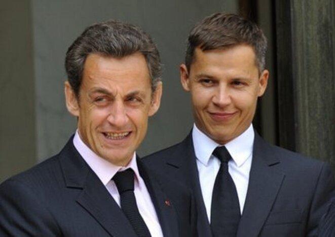 Nicolas Sarkozy & Boris Boillon